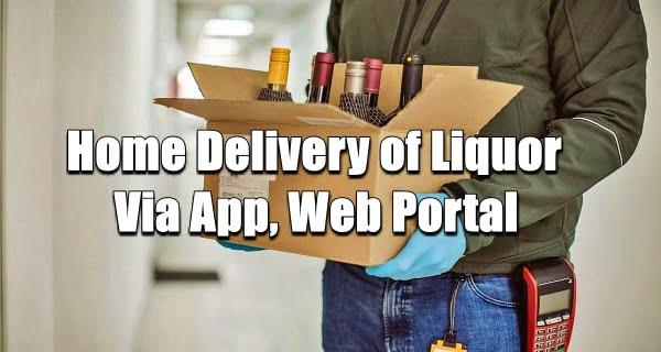 Home Delivery of Liquor Via App