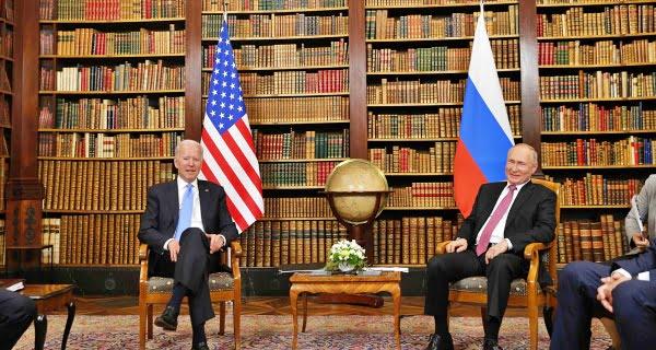 Putin met Biden
