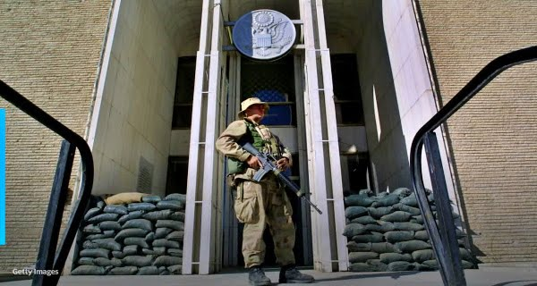 US embassy in Afghanistan
