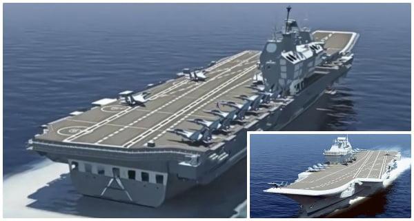 aircraft carrier IAC-1