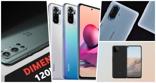 5 new smart phone