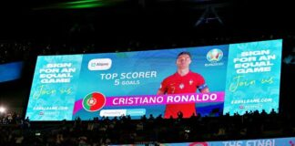 Alipay Top Scorer trophies