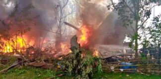 Army plane crashes in Philippines