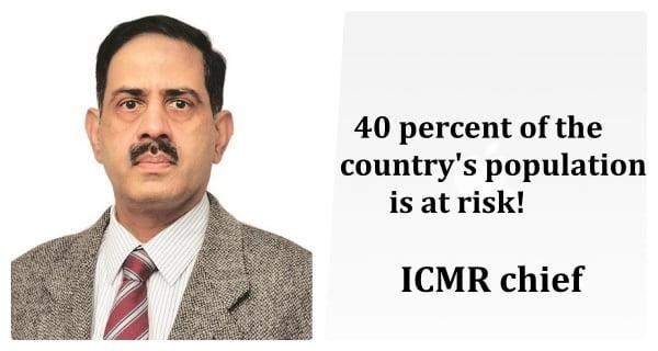 Balram Bhargava ICMR chief