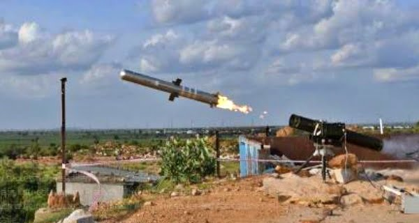DRDO successfully test-fired MPATGM missile