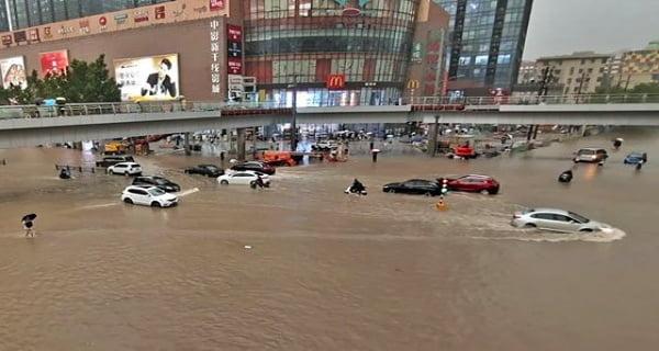 Flood havoc in China, 12 people killed