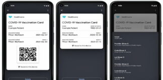 Google COVID-19 Vaccine Cards Natively on Android Phones