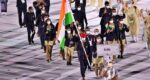 India in the opening ceremony