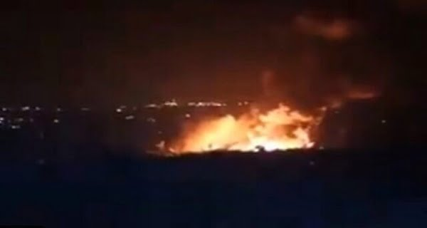 Israel launched an airstrike on Syria
