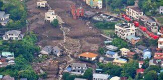 Landslide in Japan, four killed
