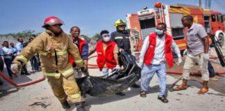 Massive explosion in the Somalia capital