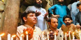 Namaz offered at Dilip Kumar's house in Peshawar