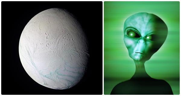 Saturn-Moon-Enceladus