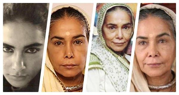 Surekha Sikri-collage