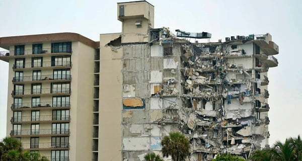 Surfside building accident