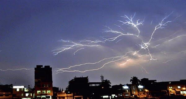 lightning in Rajasthan