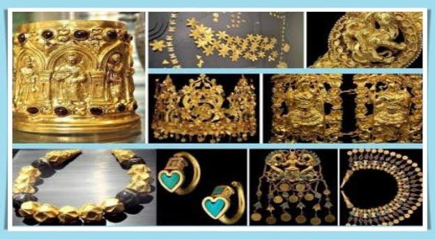 2000-year-old gold treasure Afghanistan