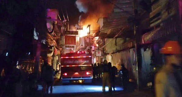 Fire breaks out in nightclub in Bangkok