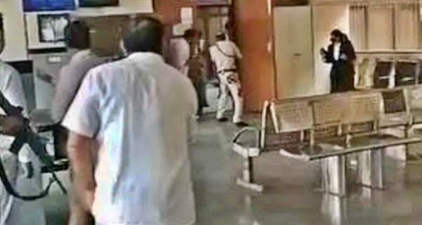 Firing was going on in Rohini court