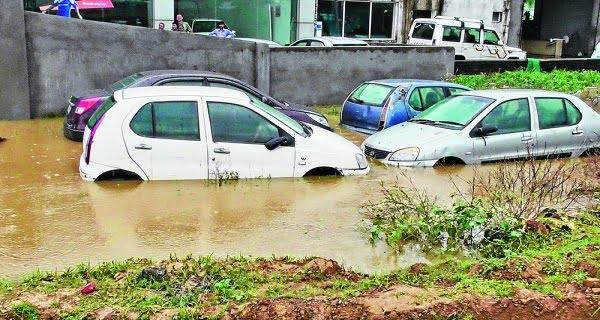 Heavy rains in Asansol