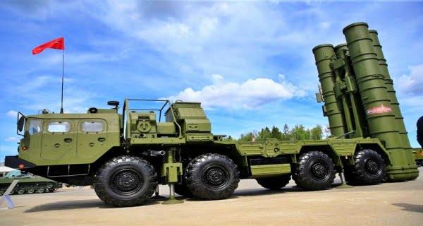 S-400 air defense system