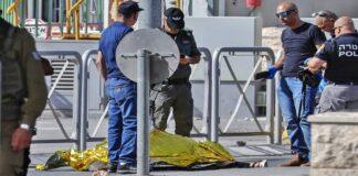 Woman shot at attacking Israel police
