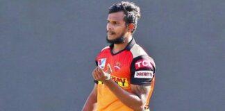 fast bowler T Natarajan