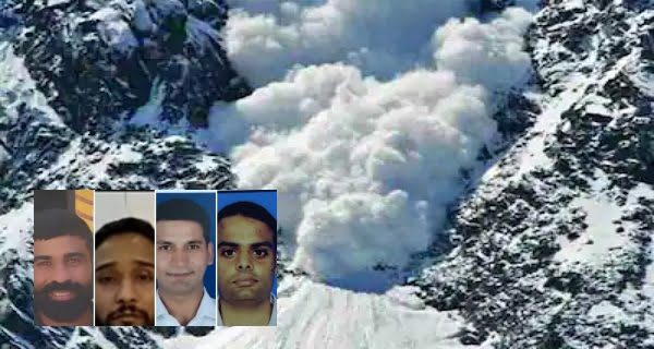 Bodies of four Navy mountaineers recovered