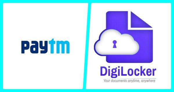 Paytm app-digilocker