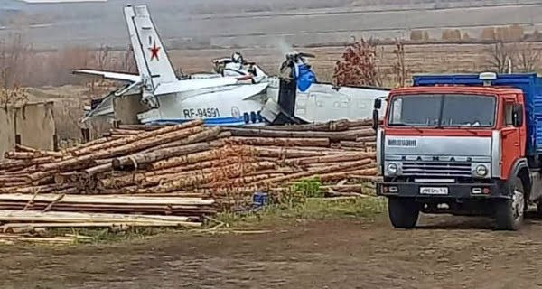 Plane crash with 23 people in Russia