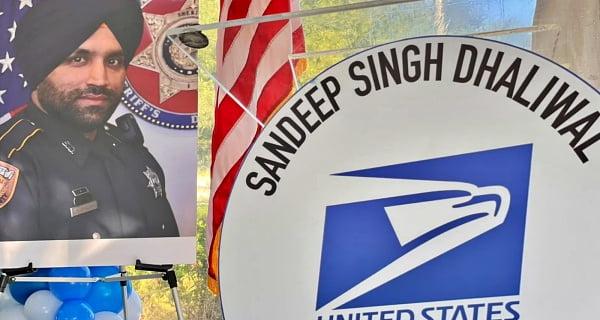 Post Office named after Sikh policeman Sandeep Singh Dhaliwal