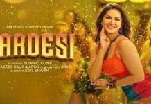 Sunny Leone new song Pardesi