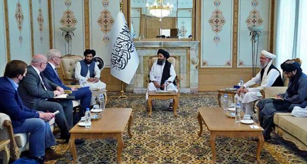 Taliban meets Iran-UK officials