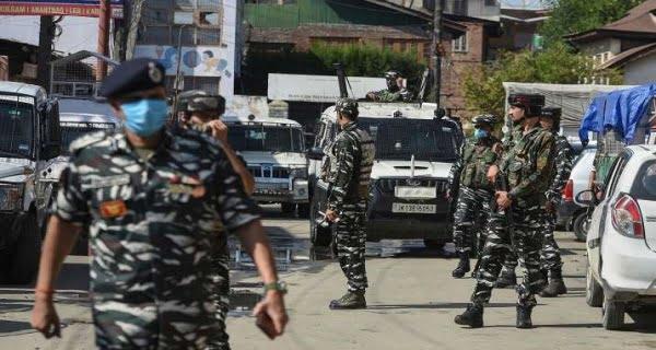 Terrorists shot dead three people