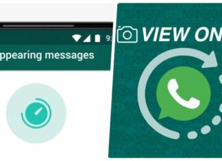 View Ones and Disappearing Messages
