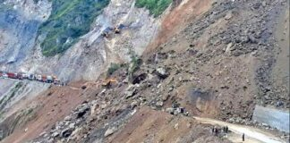 Worst condition in Dharchula and Munsiyari