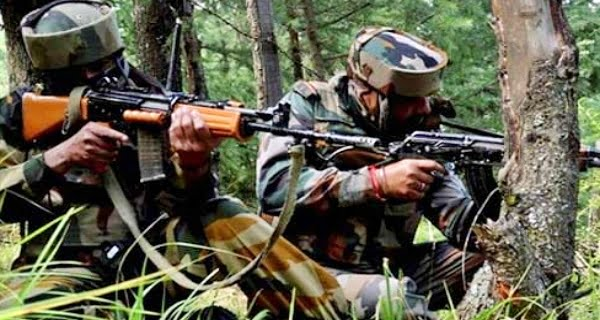 encounter with terrorists in Jammu and Kashmir's Poonch